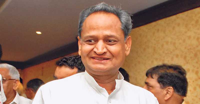Ashok Gehlot Aloof With Vasundhara Raje's 4 Years Completion in Office