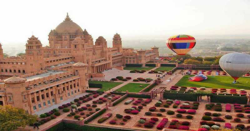 Umaid Bhawan Palace : Heart of Blue City - Aapno Jodhpur