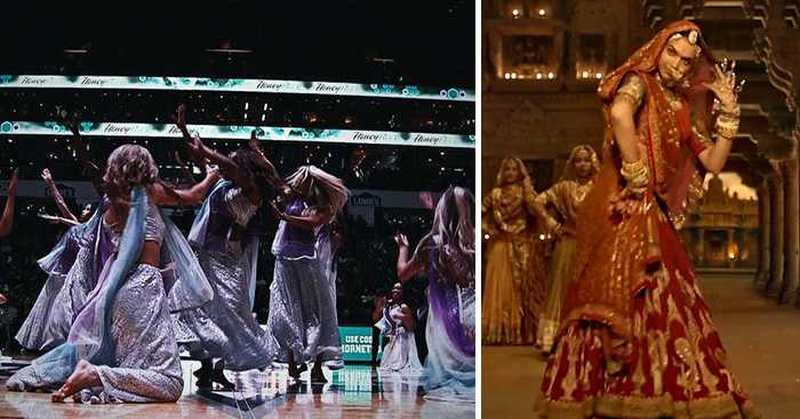 Padmaavat's Ghoomar Song Goes Viral In US, Cheerleaders Perform During NBA Match
