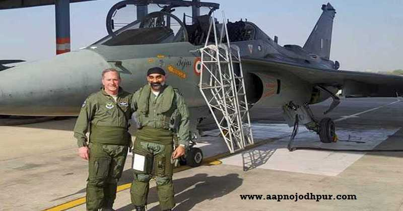 US Air Force Chief Flies in 'Made-In-India' Fighter Jet Tejas in Jodhpur