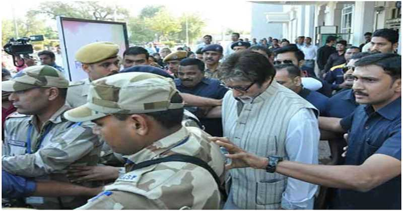 SHAHENSHAH ARRIVES IN JODHPUR FOR SHOOTING OF THUGS OF HINDOSTAN.
