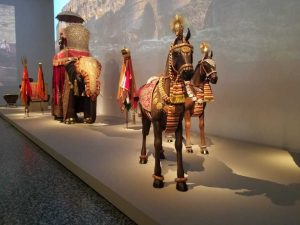 Exhibition of Royal Arts of Jodhpur 'Peacock in the Desert' at Houston Museum