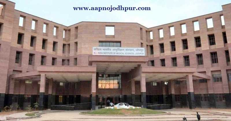AIIMS Jodhpur Recruitment: Apply Online for 101 Senior Residents Post. Job openings at AIIMS Jodhpur