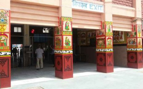 NIFT Students Painted India's Cleanest- Jodhpur Railway Station In Traditional Themes