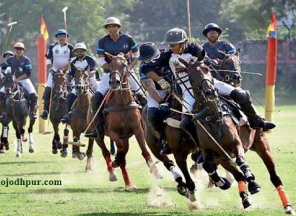 Jodhpur Polo and Equestrian Institute will hold six tournaments & 8 exhibition matches in 20th Jodhpur Polo season 2019, starting from Nov 25