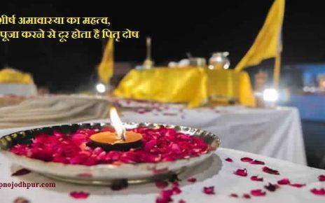 Margashirsha Amavasya 2019: पितृ दोष दूर करने के लिए क्या करे? जानिएमार्गशीर्ष अमावास्या व्रत,पूजा विधि व महत्व, यह अमावस्या 26 नवंबर, दिन मंगलवार को है। इसअमावस्या को अगहन अमावस्या या श्राद्धादि अमावस्या के नाम से भी जाना जाता है, जिसका महत्व अत्यधिक माना गया है।