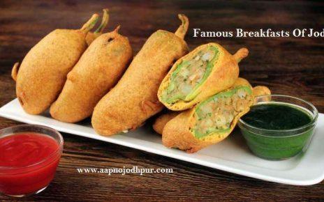 10 Famous Breakfasts Of Jodhpur In Winter, Mirchi bada, dudh jalebi, raab, bajre ka daliya, khichdi, best nashta in jodhpur in winter, what to eat in jodhpur