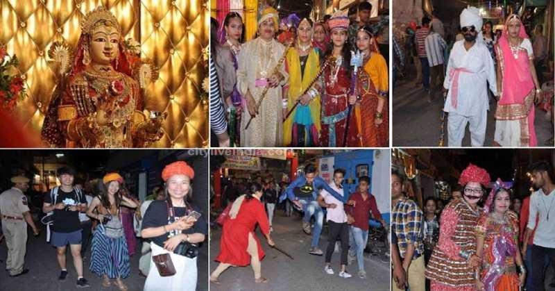 धींगा गवर (Dhinga Gavar): मारवाड़ में अनूठी है धींगा गवर पूजन की संस्कृति। Dhinga Gavar Festivalisunique festival of Rajasthan, that is meant for women.महिला सशक्तिकरण का परिचायक है मारवाड़ का yeh अनूठा धींगा गवर ka मेला। गणगौर पूजा के 16वें दिनवैशाख कृष्ण पक्ष की तृतीया ko 'धींगा गवर' का पूजन होता है।