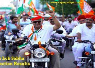 Gajendra Singh Shekhawat Wins Jodhpur Lok Sabha Election result 2019: जोधपुर लोकसभा सीटकी जनता ने भाजपा प्रत्याशी केन्द्रीय कृषि राज्य मंत्री गजेंद्र सिंह शेखावत कोवोट देकर अपना नेता चुन लिया है.राजस्थानमुख्यमंत्रीअशोक गहलोत अपने गढ़ माने जाने वाले जोधपुर से अपने पुत्र वैभव गहलोत को चुनाव नहीं जिता पाए। Winning Margin in Jodhpur