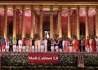 Modi Cabinet 2.0: Amit Shah New HM and Sitharaman as FM: Prime Minister Narendra Modi and his Council of Ministers took an oath to the office on May 30, 2019. The 17th Lok Sabha Union Cabinet includes 24 cabinet ministers, 9 ministers of state with independent charge and 24 ministers of state.