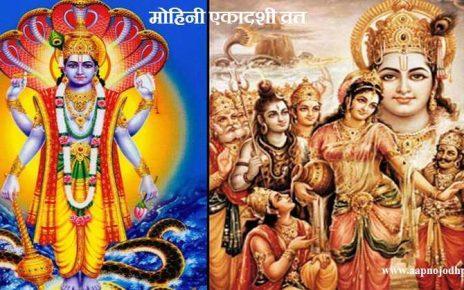 Mohini Ekadashi 2020, कब है मोहिनी एकादशी? ,भगवान विष्णु ने इस दिन धारण किया था मोहिनी रूप, मोहिनी एकादशी पूजा मुहूर्त, व्रत विधि, कथा और महत्व, मोहिनी एकादशी व्रत