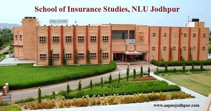 The School of Insurance Studies under National Law University Jodhpur has begun the admission process for the two year MBA programme in Insurance. Admission into NLU Jodhpur MBA Insurance- 2019 will be granted on the basis of CAT/MAT/CMAT scores.