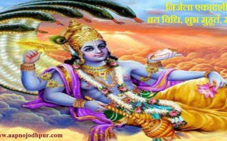 Nirjala Ekadashi 2019:हिंदू धर्म में ज्येष्ठ मास के शुल्क पक्ष में पड़ने वाली एकदशी यानी निर्जला एकादशी का मह्त्व विशेष है.इस आलेख में हम निर्जला एकादशी व्रत का विधि विधान, भगवान विष्णु की पूजा विधि, निर्जला एकादशी का महत्व बताएंगे जिससे भक्तों ke जीवन में समृद्धि, स्वास्थ्य और परिवार में शांति रहे।