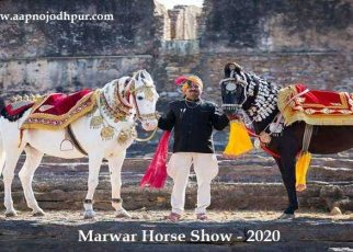 The Marwar Horse Show-2020 will be held on February 8 & 9 at Pologround Jodhpur under the aegis of All India Marwari Horse Society and MHBRSI