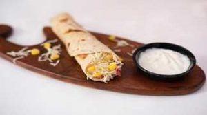 Cheese Chilli Corn Roll